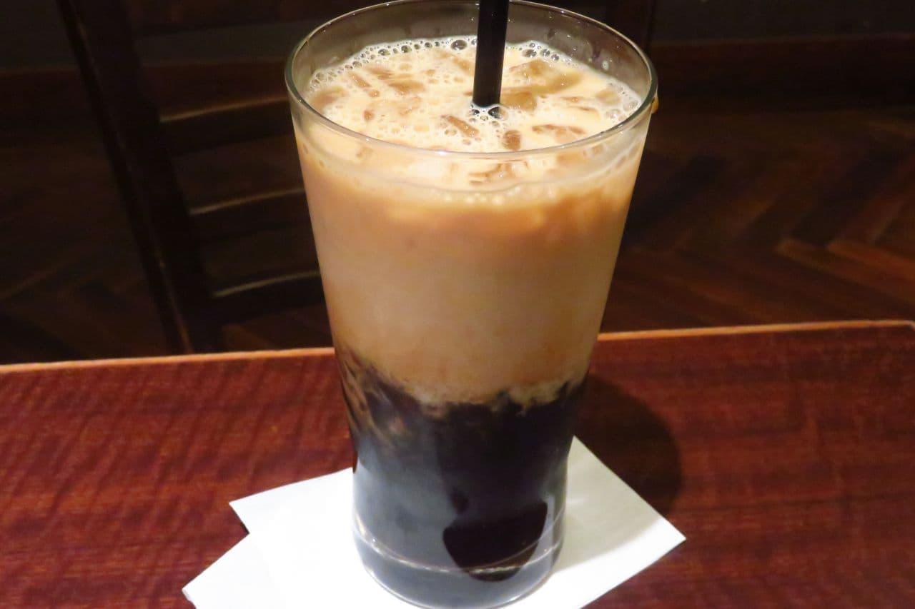サンマルクカフェ「コーヒーゼリーラテ」
