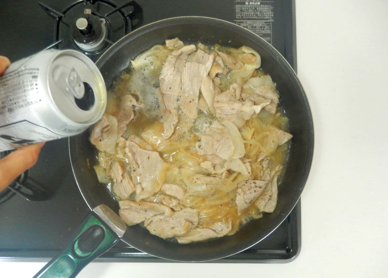 豚肉のビール煮 簡単レシピ