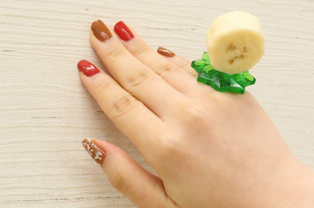 100均の「イチゴの指輪」