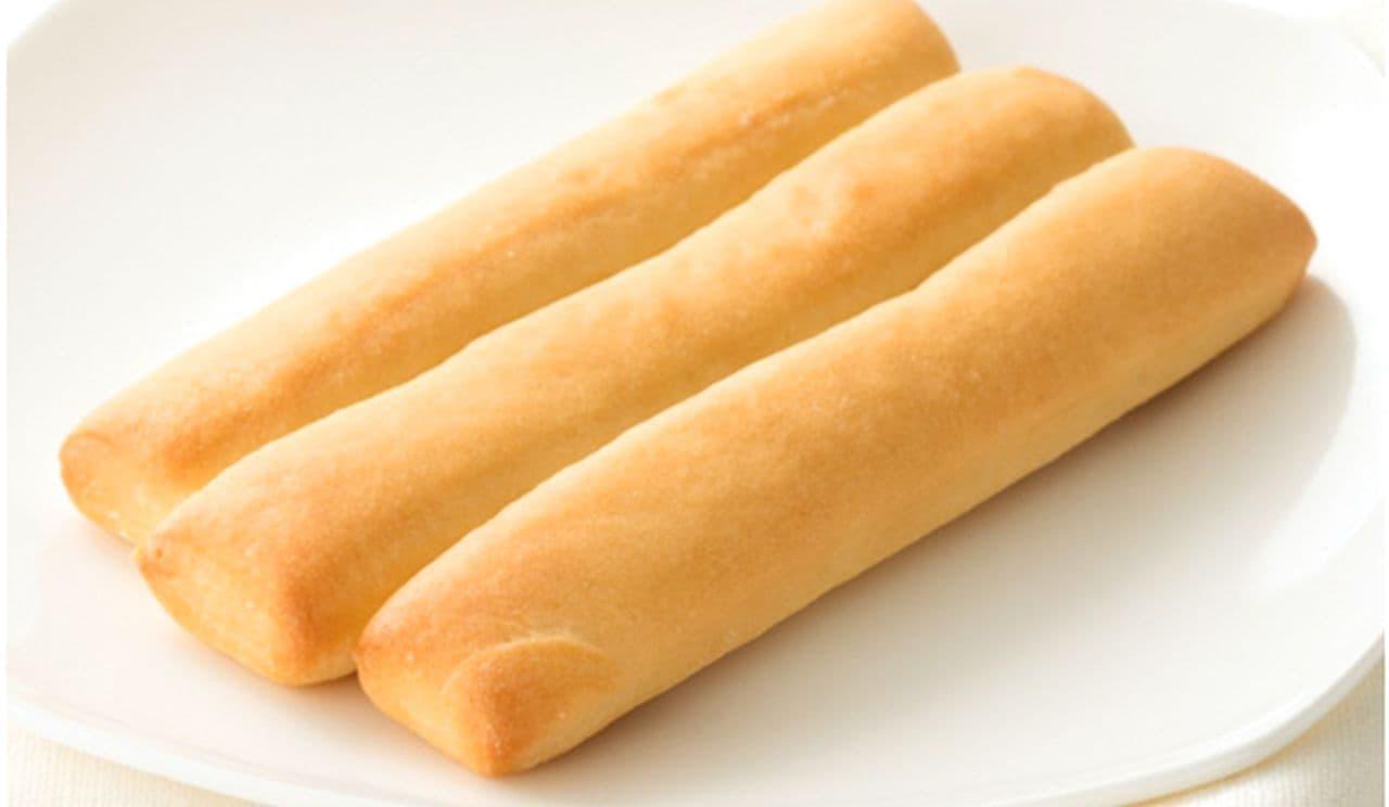 シャトレーゼ「無添加ちぎふわスティックパン」