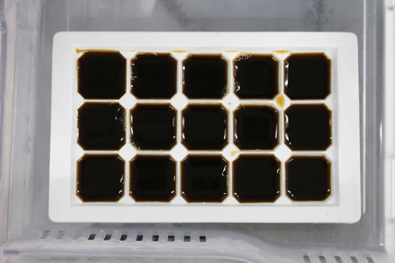 レシピ「氷コーヒー」