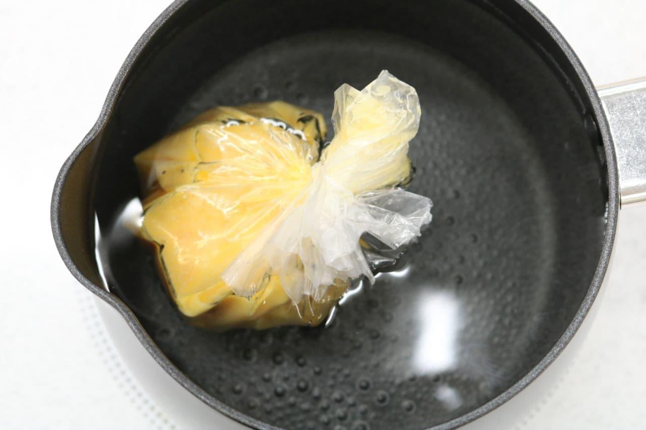 ポリ袋で作る「ふわとろオムレツ」