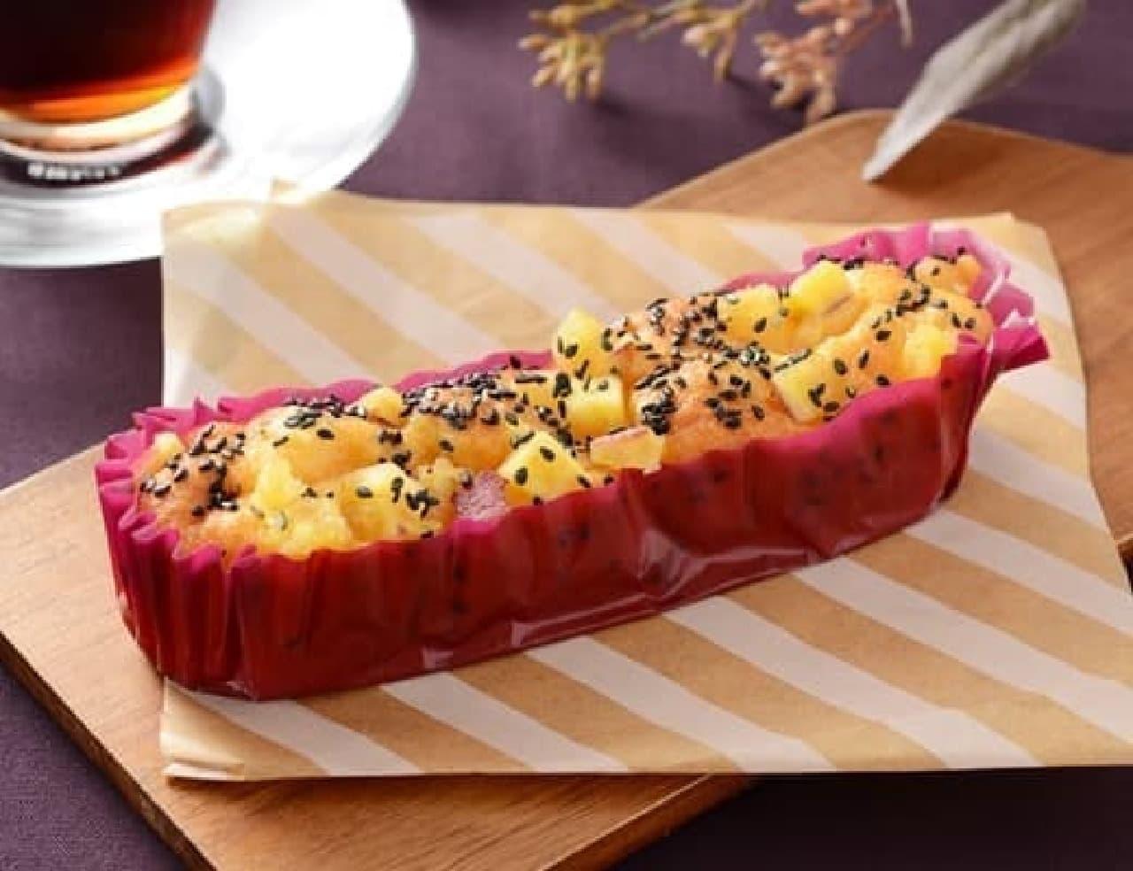 ローソン「安納芋のモッチケーキ」