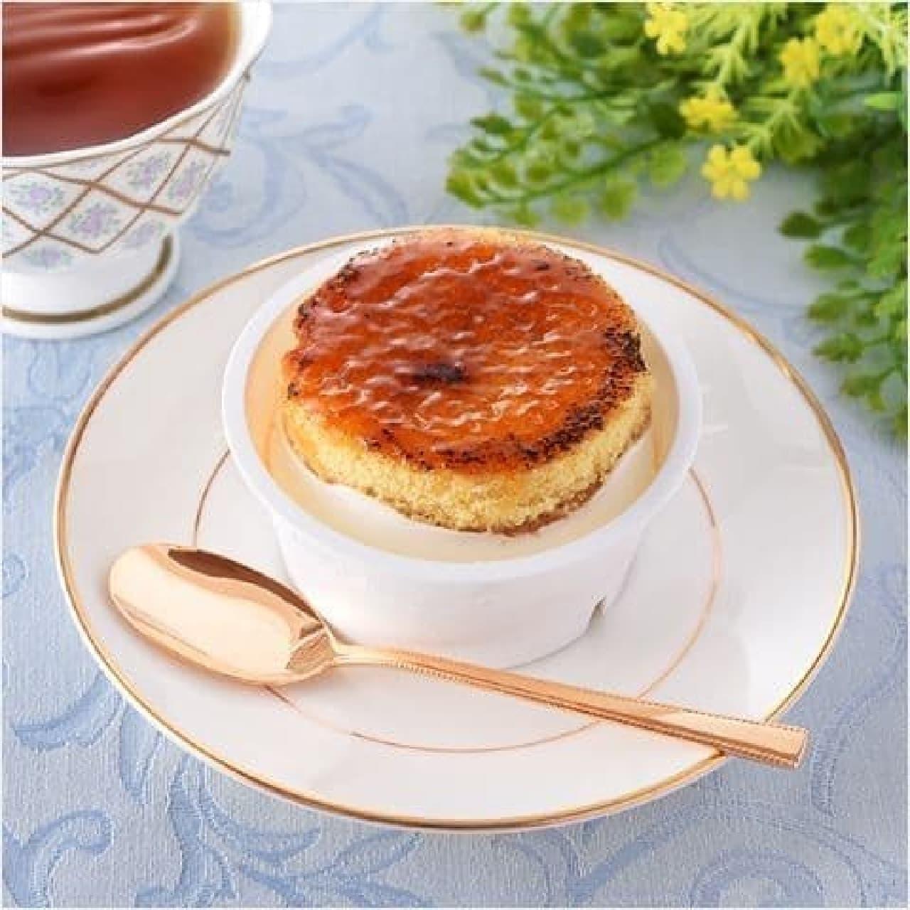 ファミリーマート「香ばしブリュレのチーズケーキ」