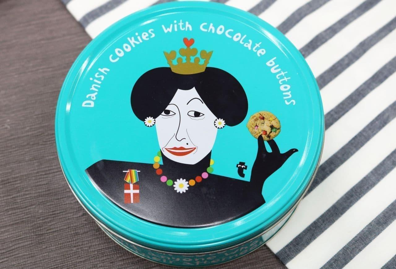 フライングタイガー「ボタンチョコレートクッキー」