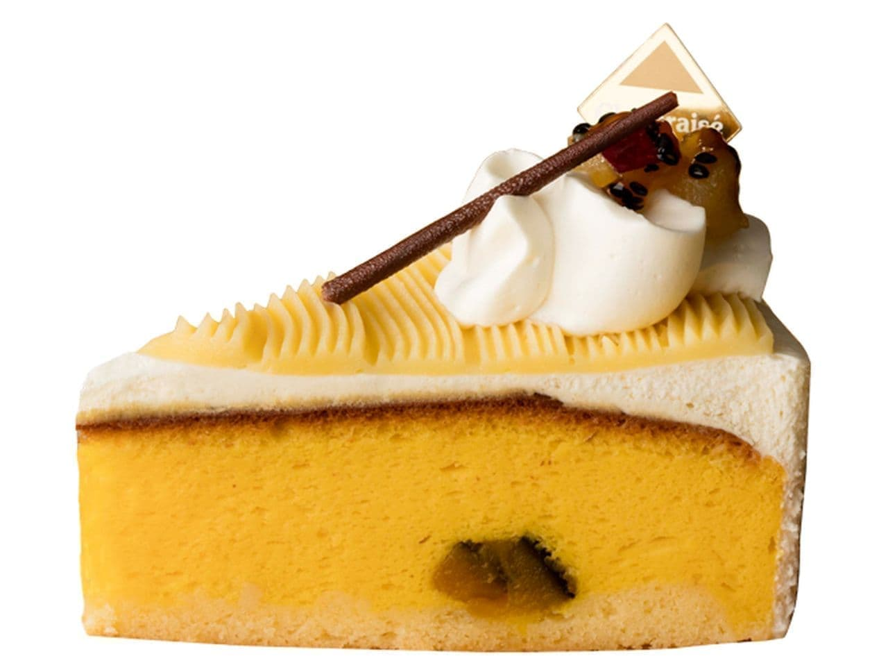 シャトレーゼ「鳴門金時とかぼちゃのスフレチーズケーキ」