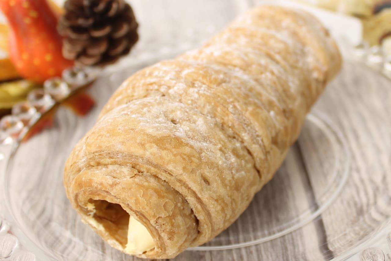 ファミリーマート限定「冷やして食べるパイコロネ マロンクリーム」