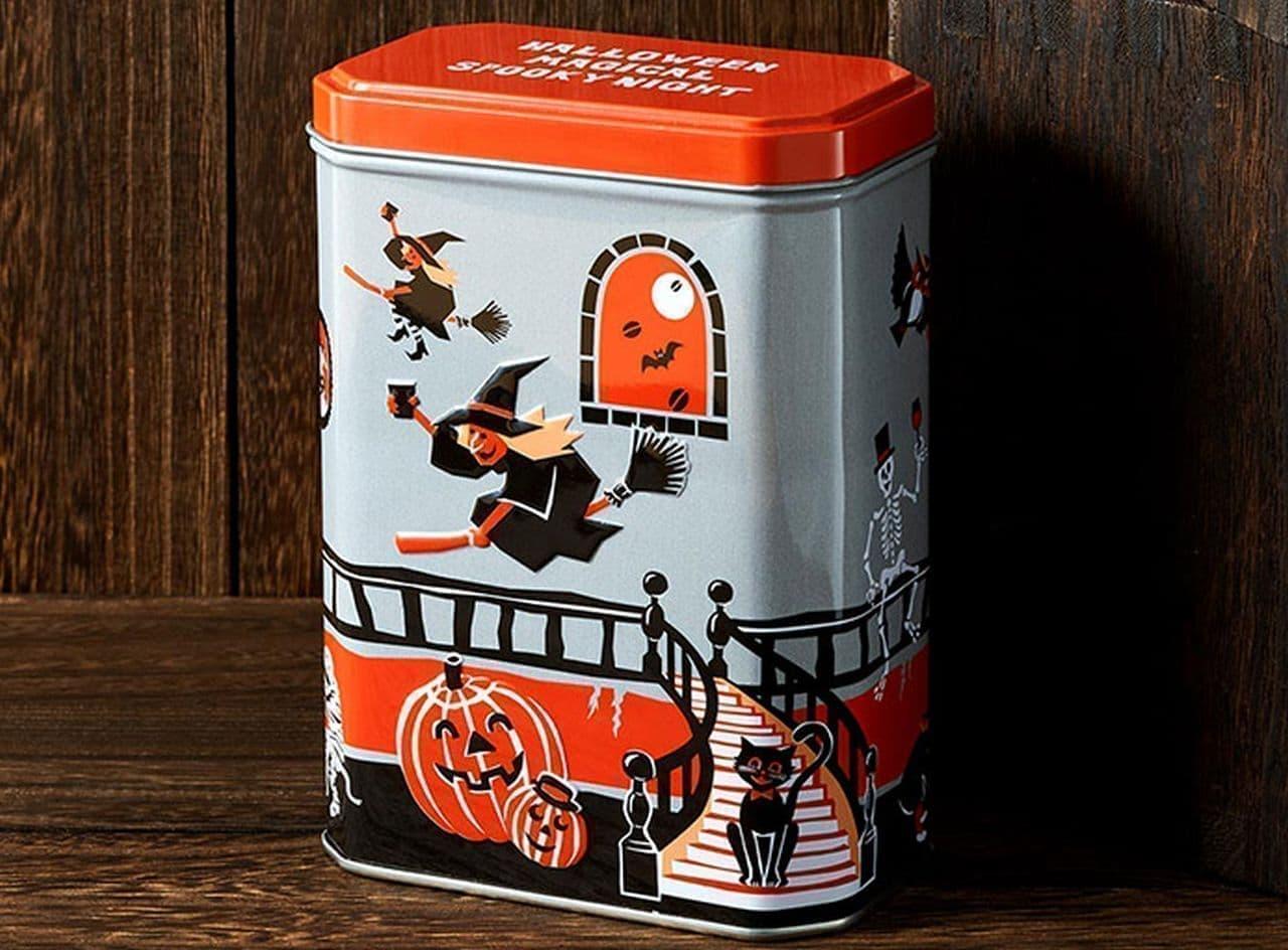 カルディ「オリジナル ハロウィンパーティー缶」