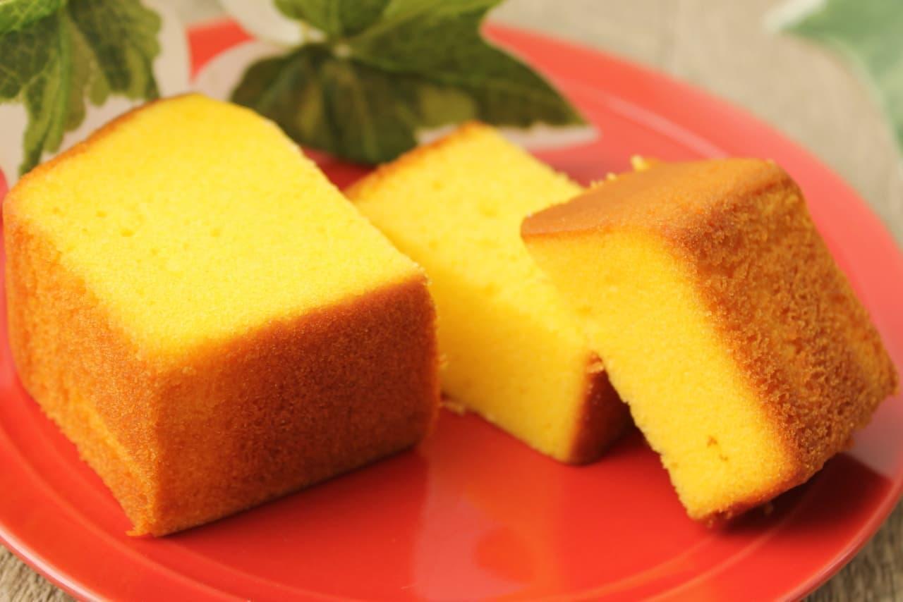 ファミマ「安納芋のパウンドケーキ」