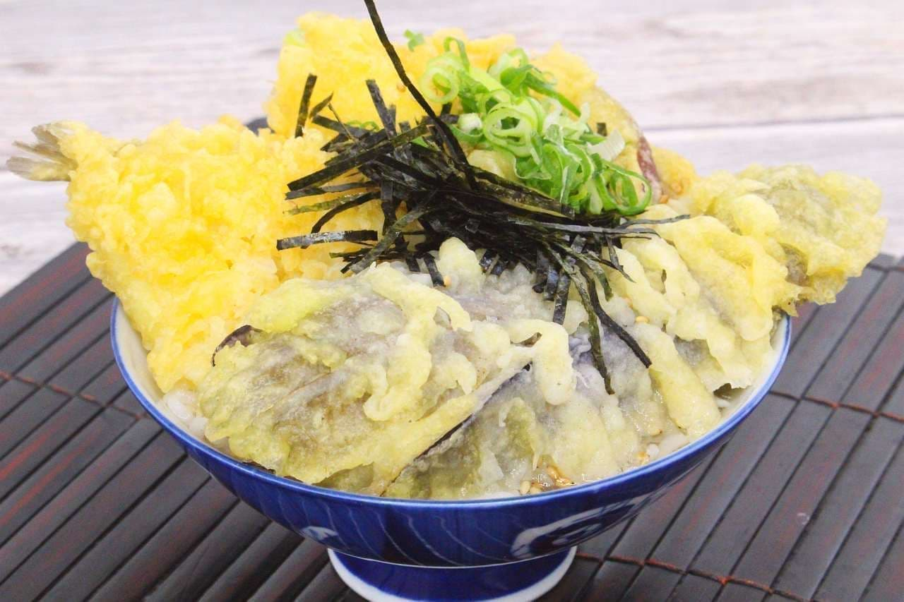 イトーヨーカドーの天ぷらで作った「天ぷら茶漬け」