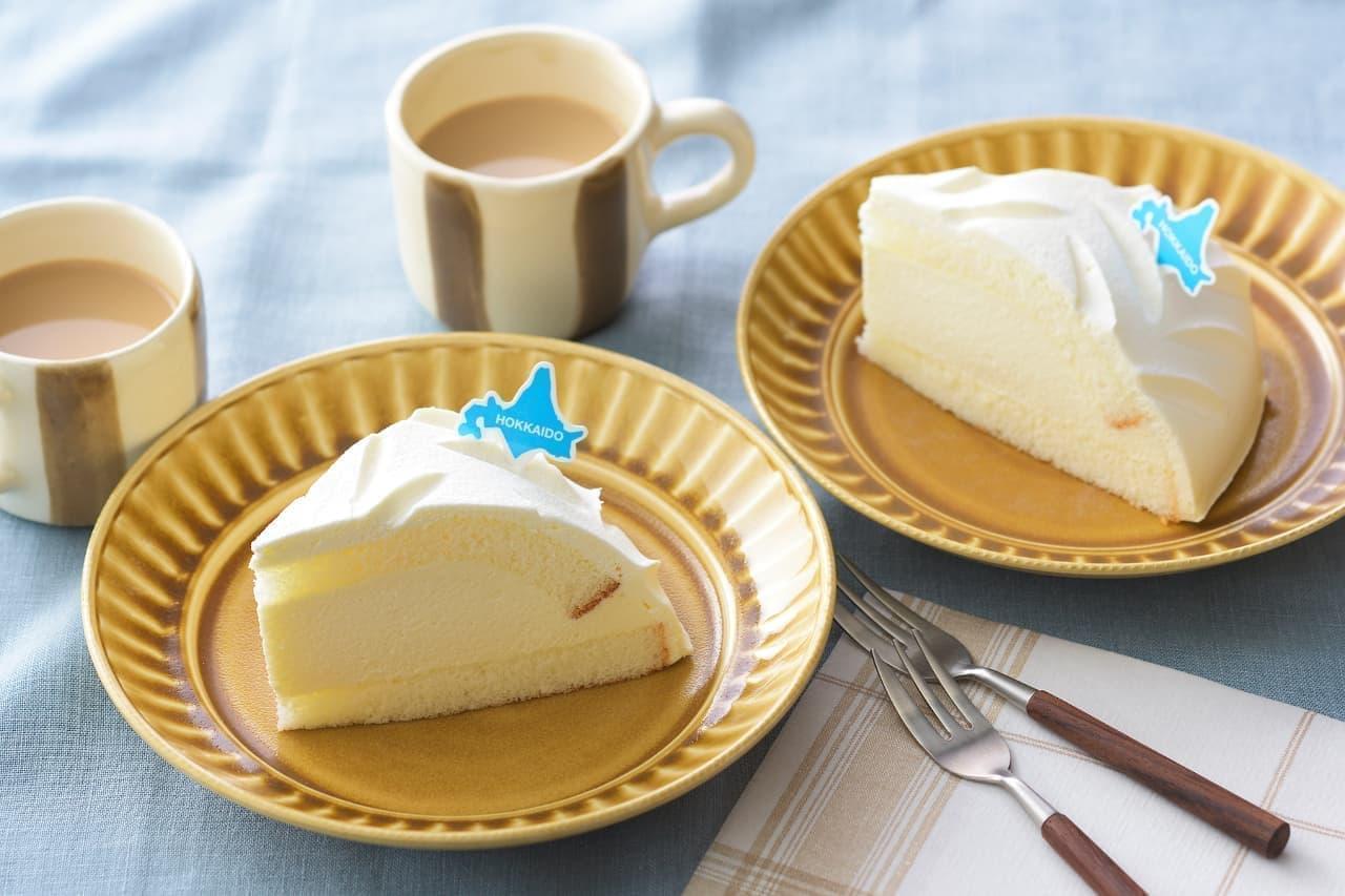 コージーコーナー「北海道産5種のチーズを使ったこだわりレアチーズ」