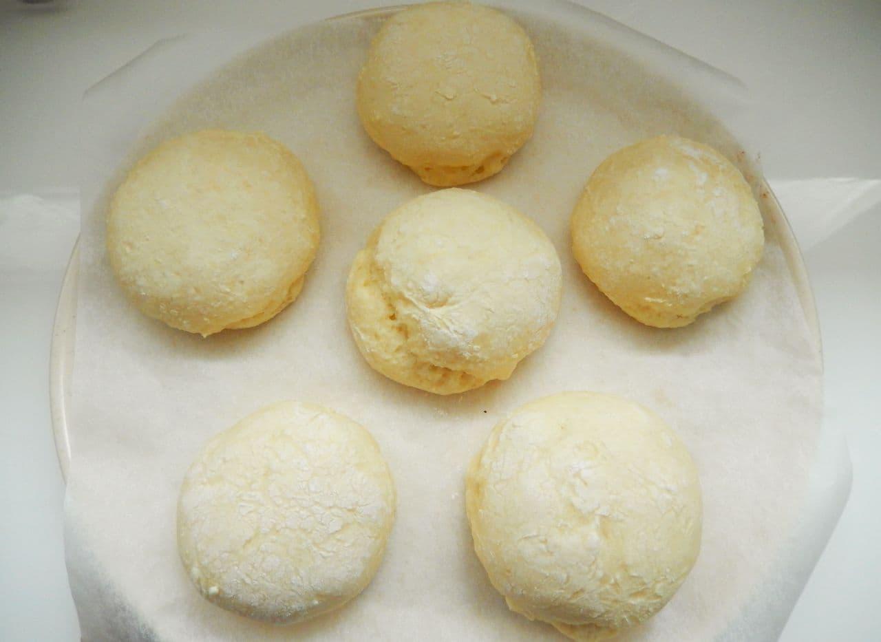 豆腐でつくる「白パン」簡単レシピ