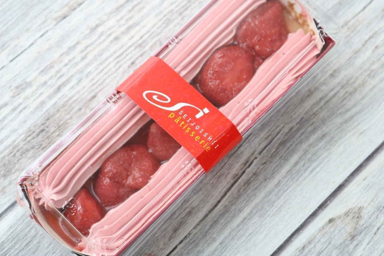 成城石井 苺のバタークリームタルト