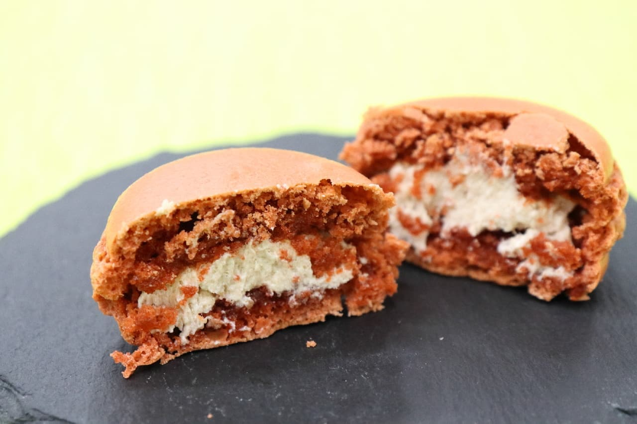 「ダロワイヨ」にマロン&カボチャのマカロン登場--期間限定、ほっくり上品な甘さ