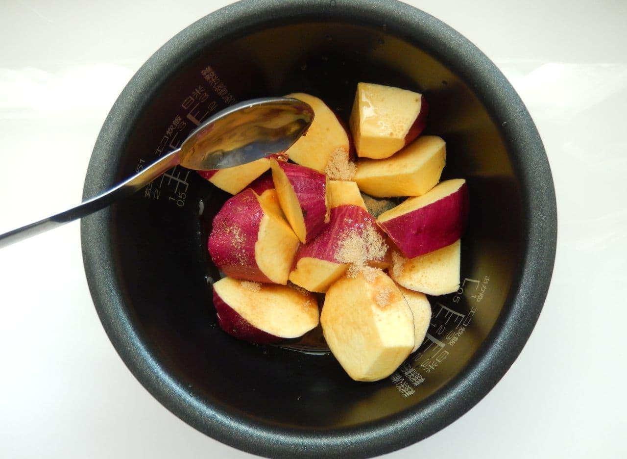 炊飯器で炊くだけの「大学いも」簡単レシピ