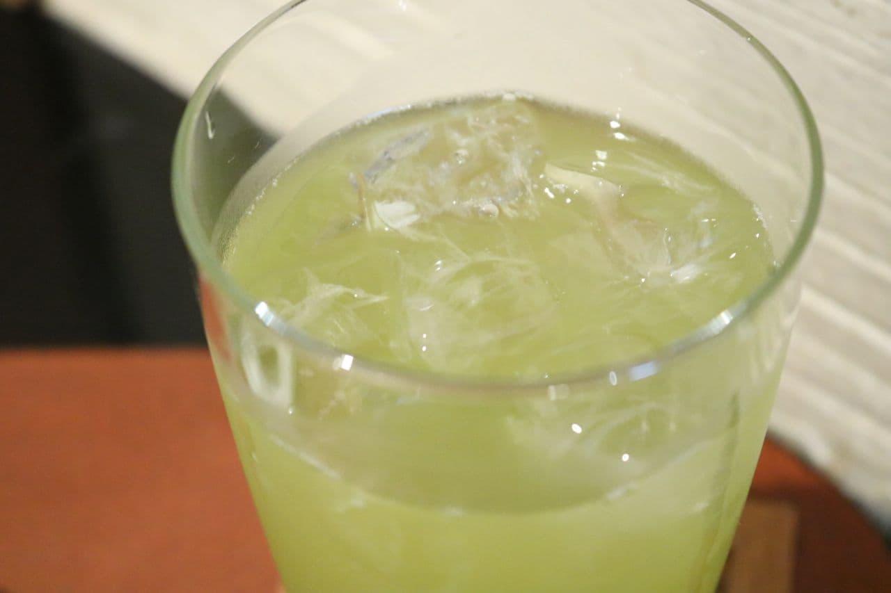 「日本茶カフェ 茶々工房」のレモングラス緑茶
