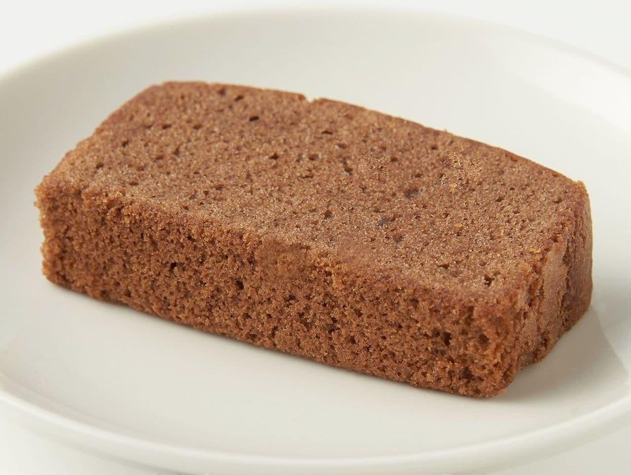 無印良品「ショコラパウンドケーキ」