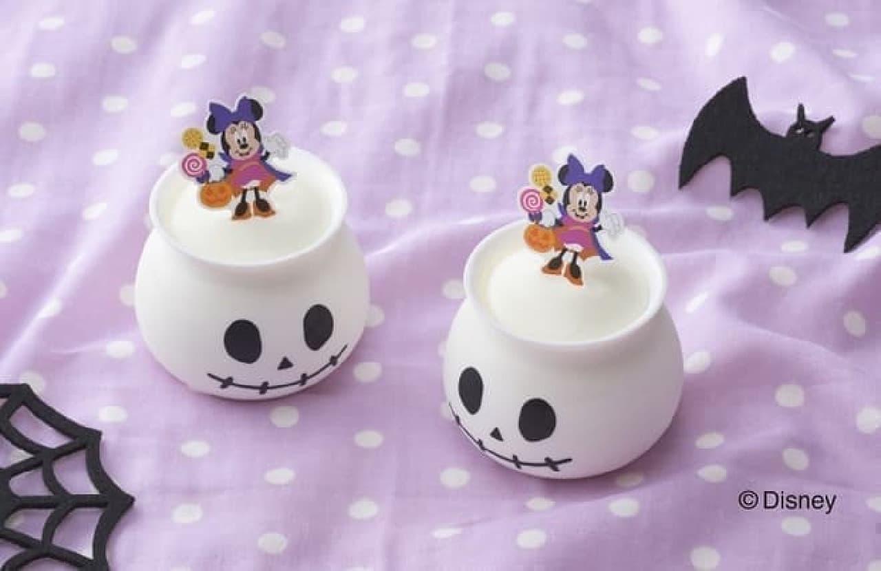銀座コージーコーナー「<ミニーマウス>ミルクプリン」