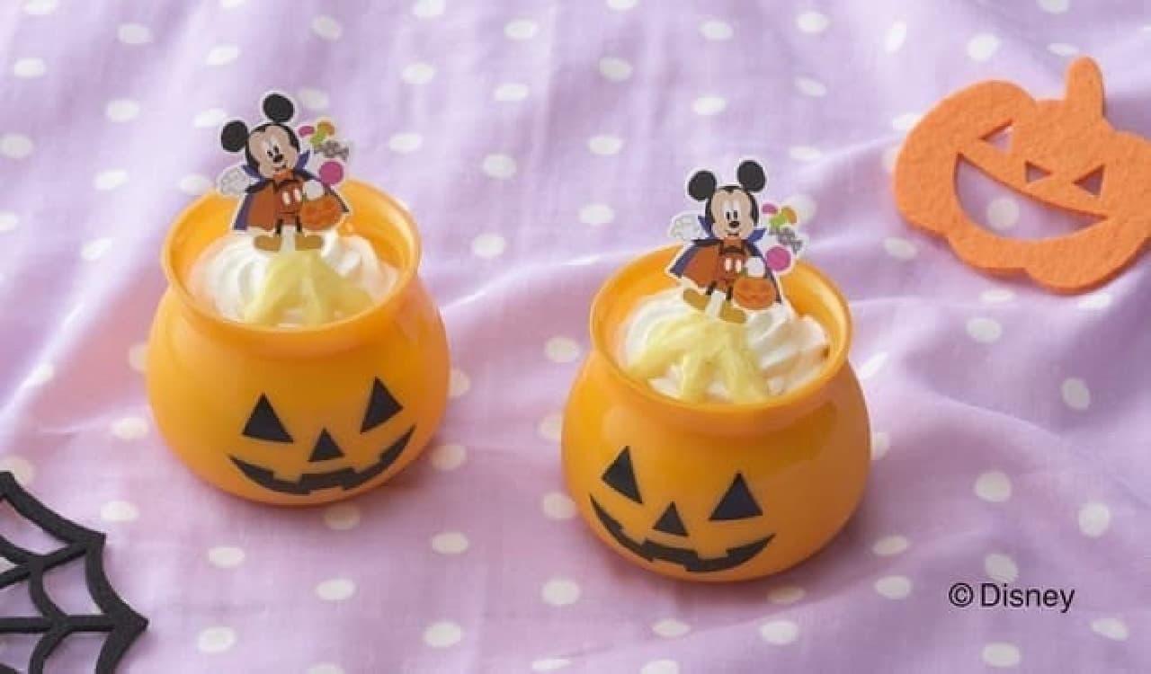 銀座コージーコーナー「<ミッキーマウス>パンプキンプリン」
