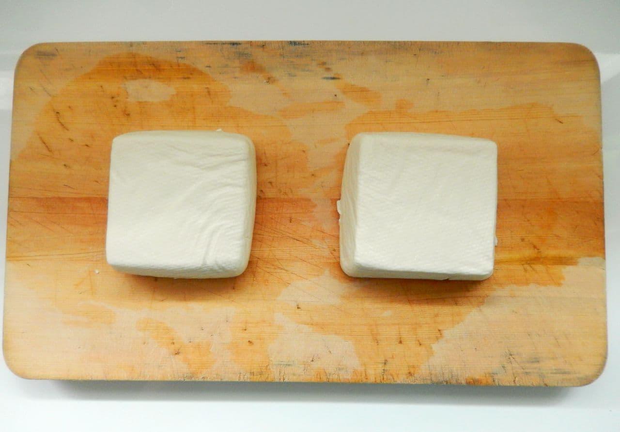 「豆腐アイス」の簡単レシピ