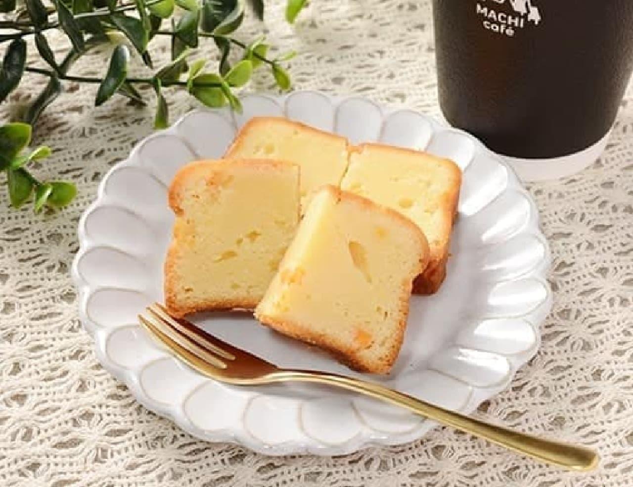 ローソン「ベイクドチーズケーキ(つぶころチーズ入り)」