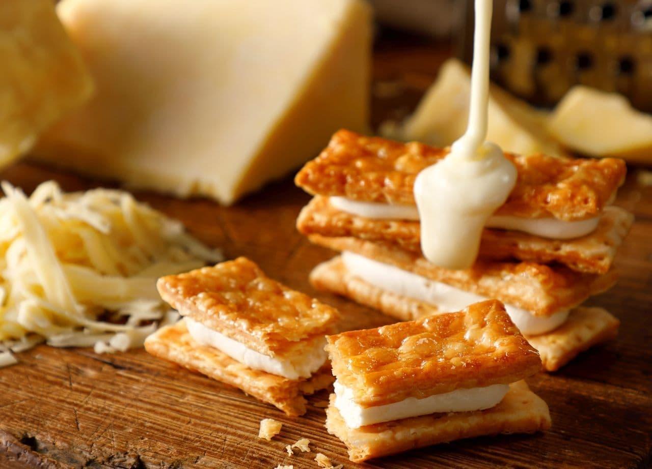 東京ミルクチーズ工場「チェダーチーズパイサンド」