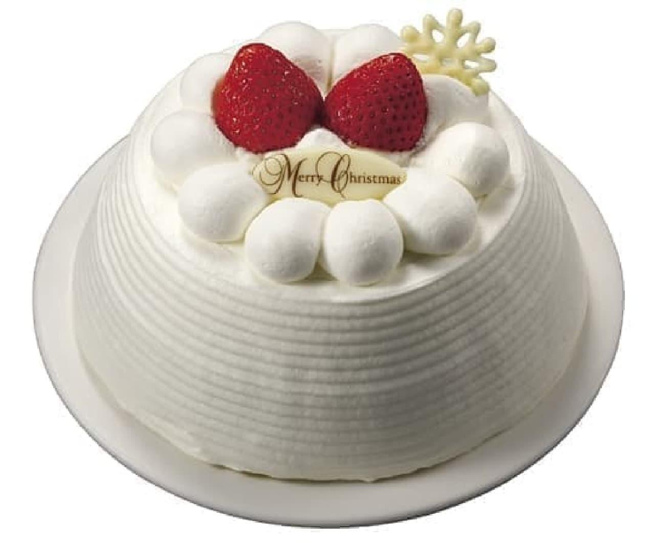 セブン-イレブン、King & Princeがプロデュースした「苺のかまくらショートケーキ(5号相当)」