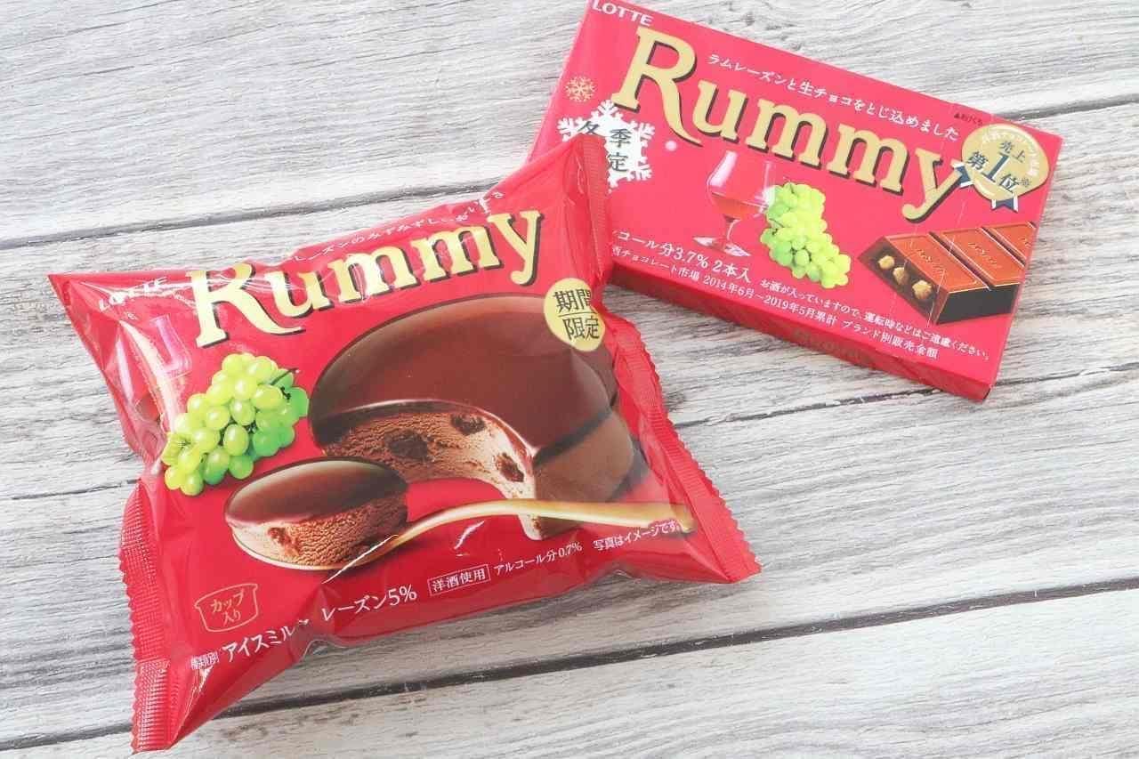 ラミーチョコアイスとラミー