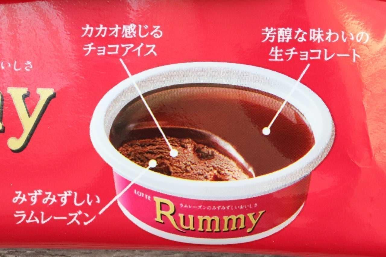 ラミーチョコアイス