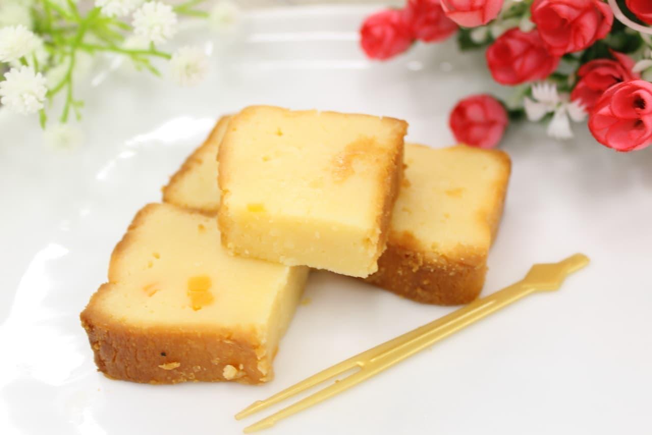 ローソン限定「ベイクドチーズケーキ(つぶころチーズ入り)」