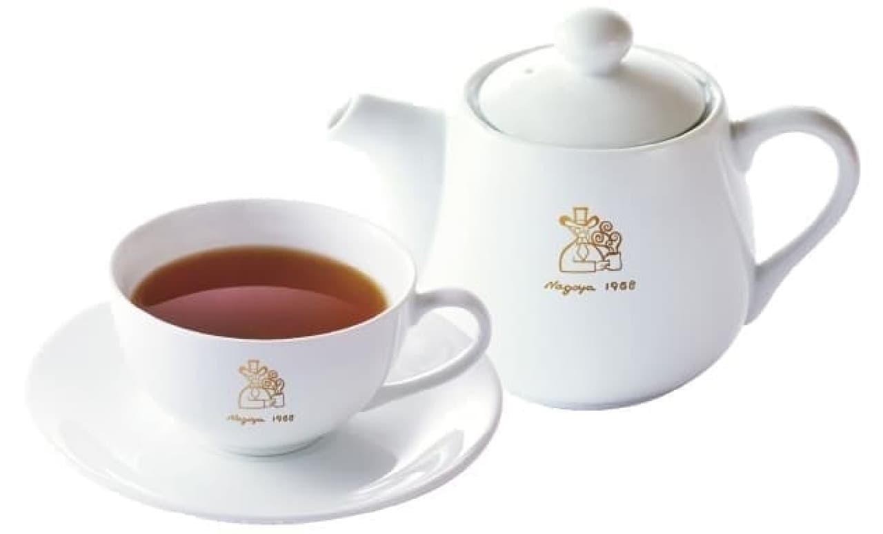 コメダ珈琲店の「お伊勢さんの和紅茶 瑞(みずき)」