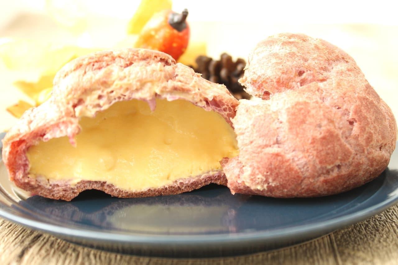 ファミマ限定「安納芋のシュークリーム」