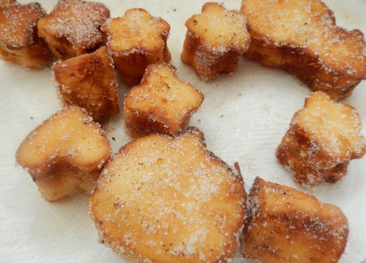 低糖質レシピ「高野豆腐のドーナツ」