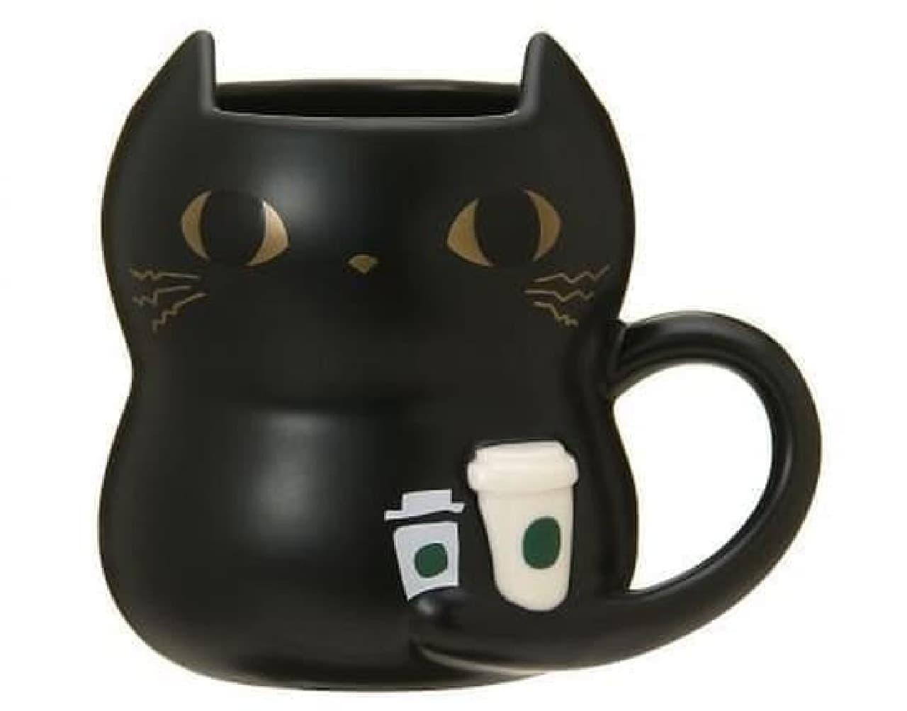 スターバックス「ハロウィン2019マグコーヒーキャット355ml」