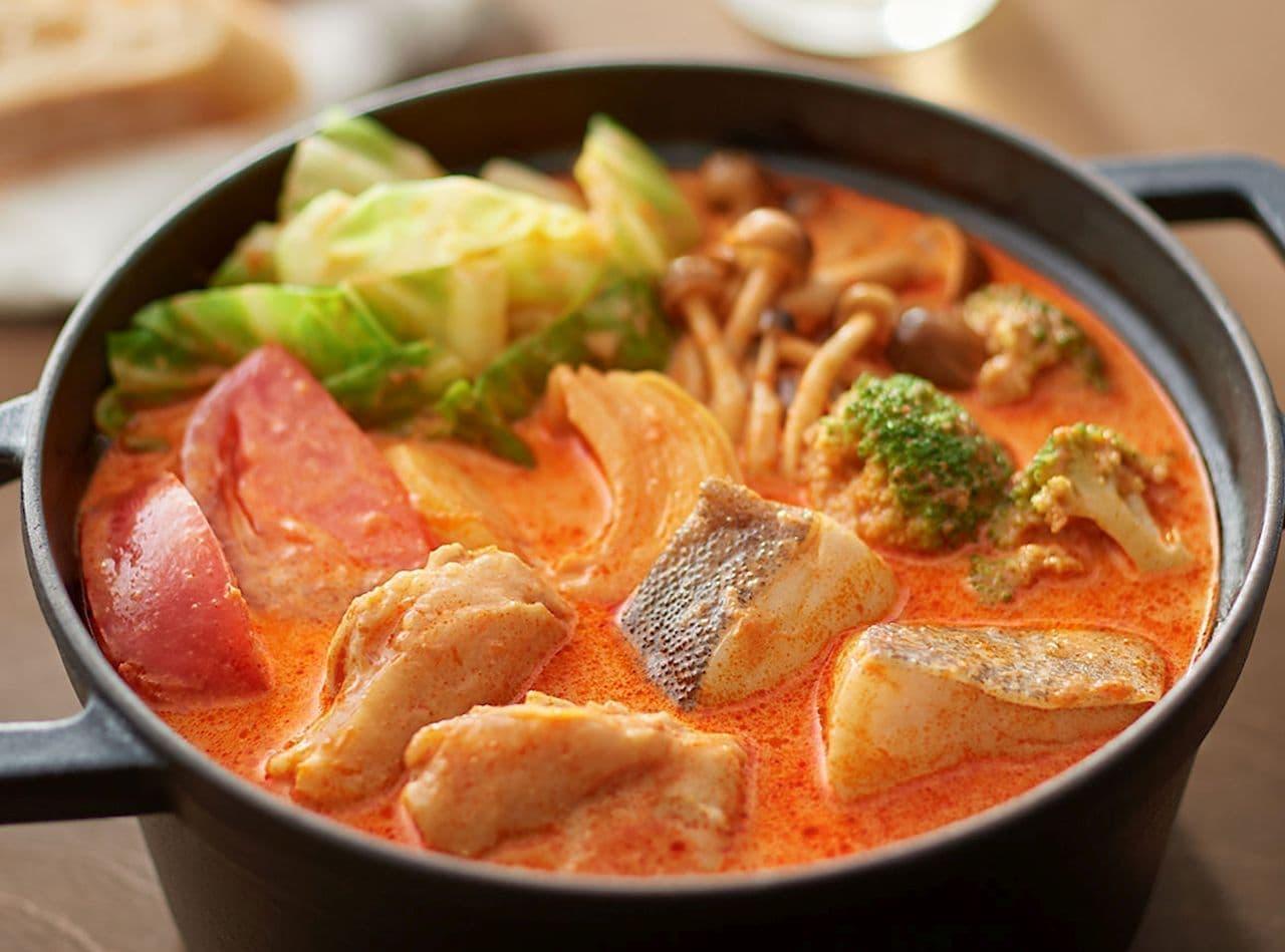 無印良品「手づくり鍋の素 ビスク鍋」