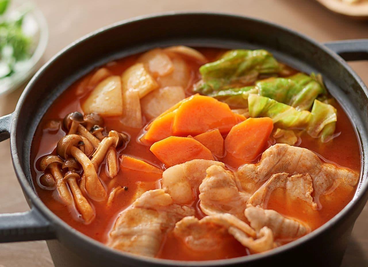 無印良品「手づくり鍋の素 ミネストローネ鍋」