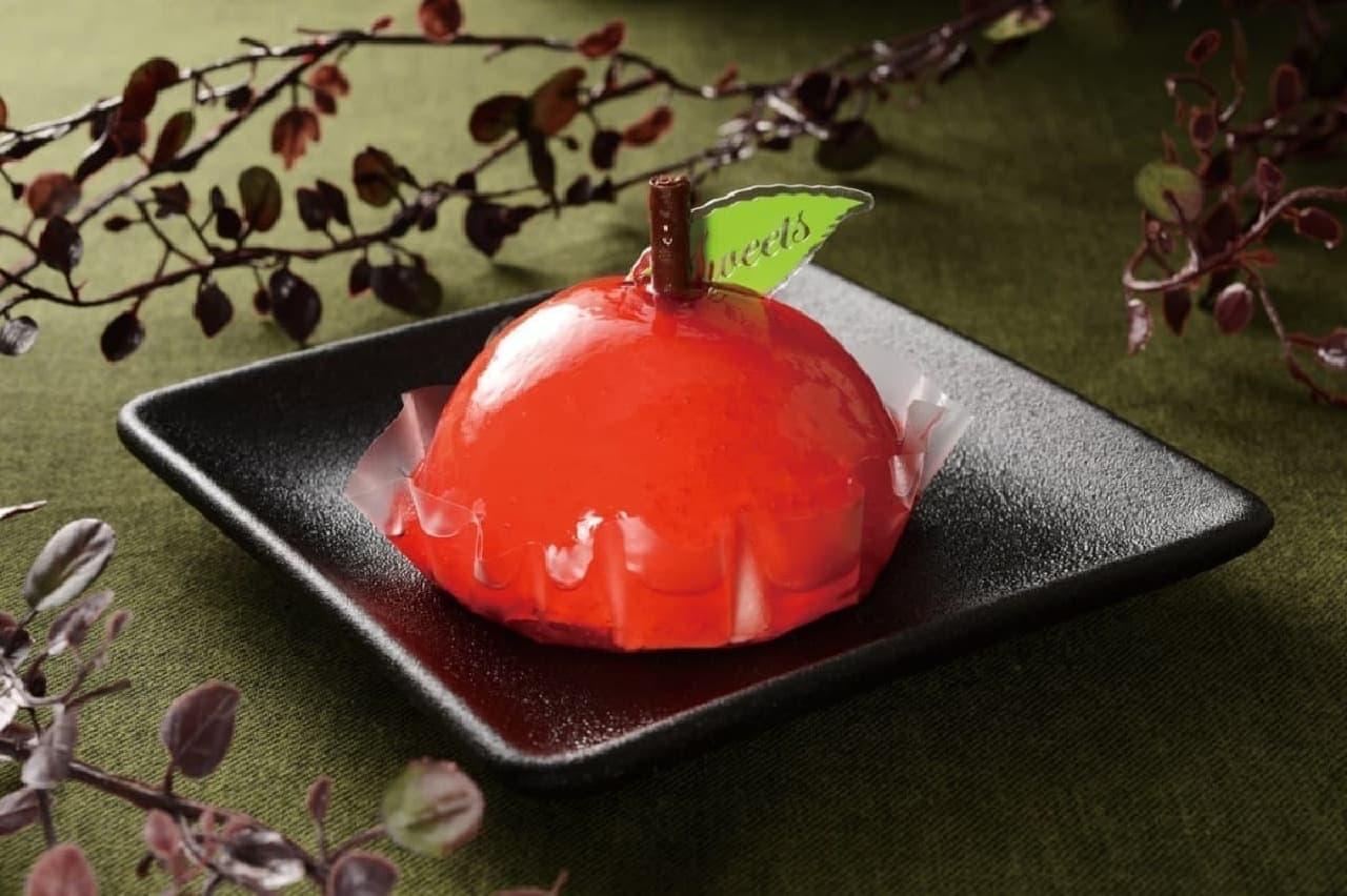 ローソン「赤りんごケーキ」