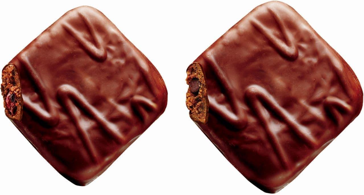 不二家「薫るカントリーマアムケーキチョコ」