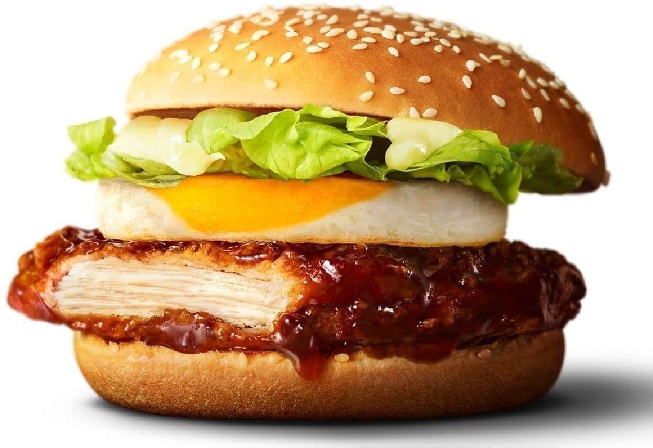 マクドナルド「親子てりやきマックバーガー」