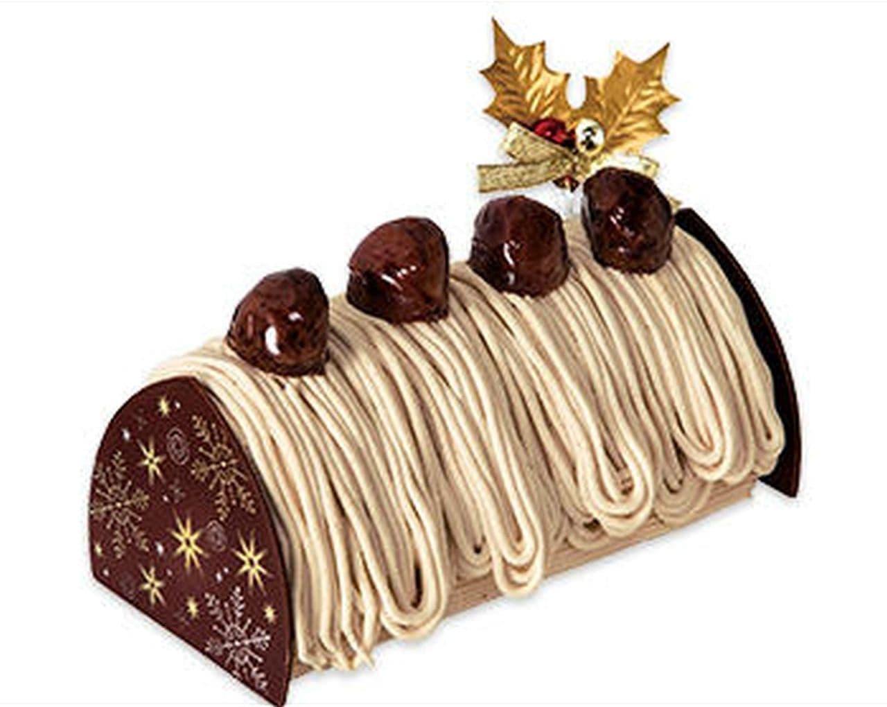 不二家「熊本県産和栗のプレミアムクリスマスモンブラン」