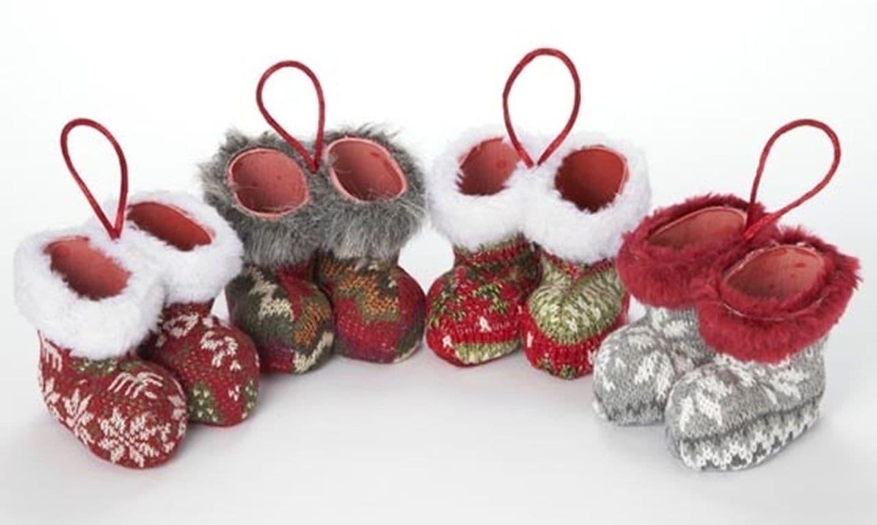 カルディ「オリジナル クリスマスオーナメントミニブーツ」