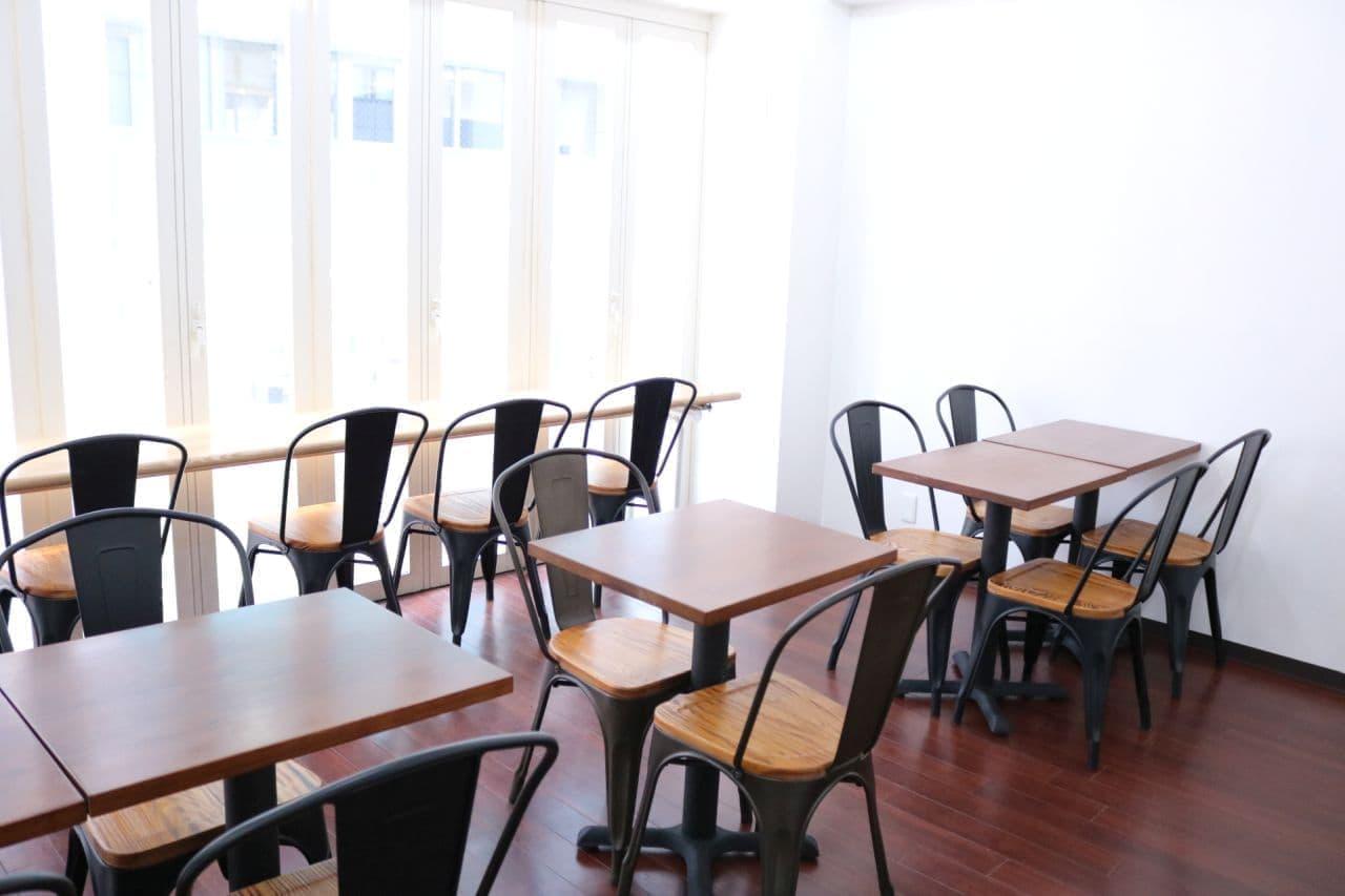 ギンビスのカフェ「銀座ベーカリー」