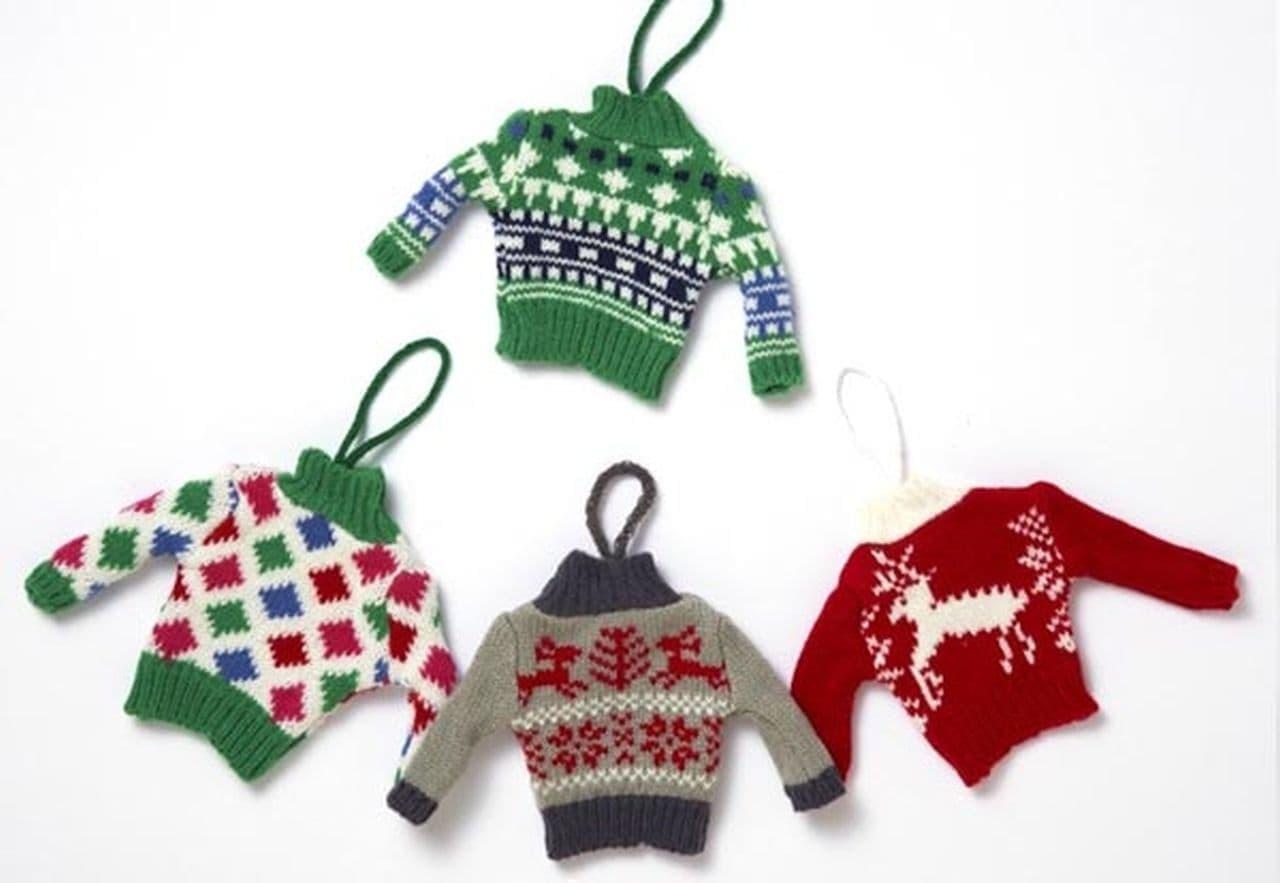 カルディ「オリジナル クリスマスオーナメントミニセーター」