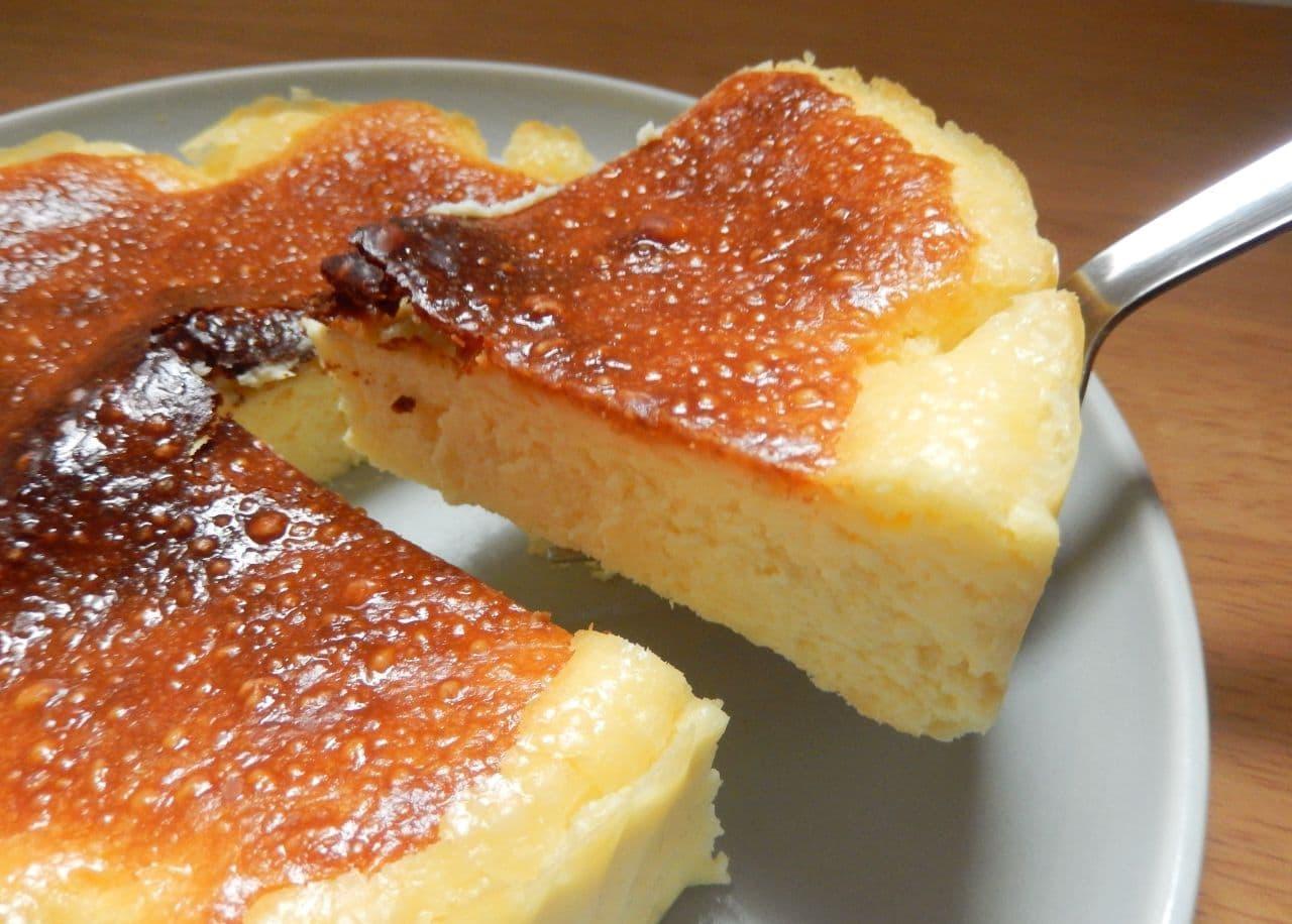 バスクチーズケーキの簡単レシピ