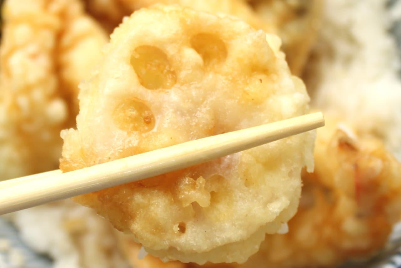 ほっともっと「海鮮特えび天丼」