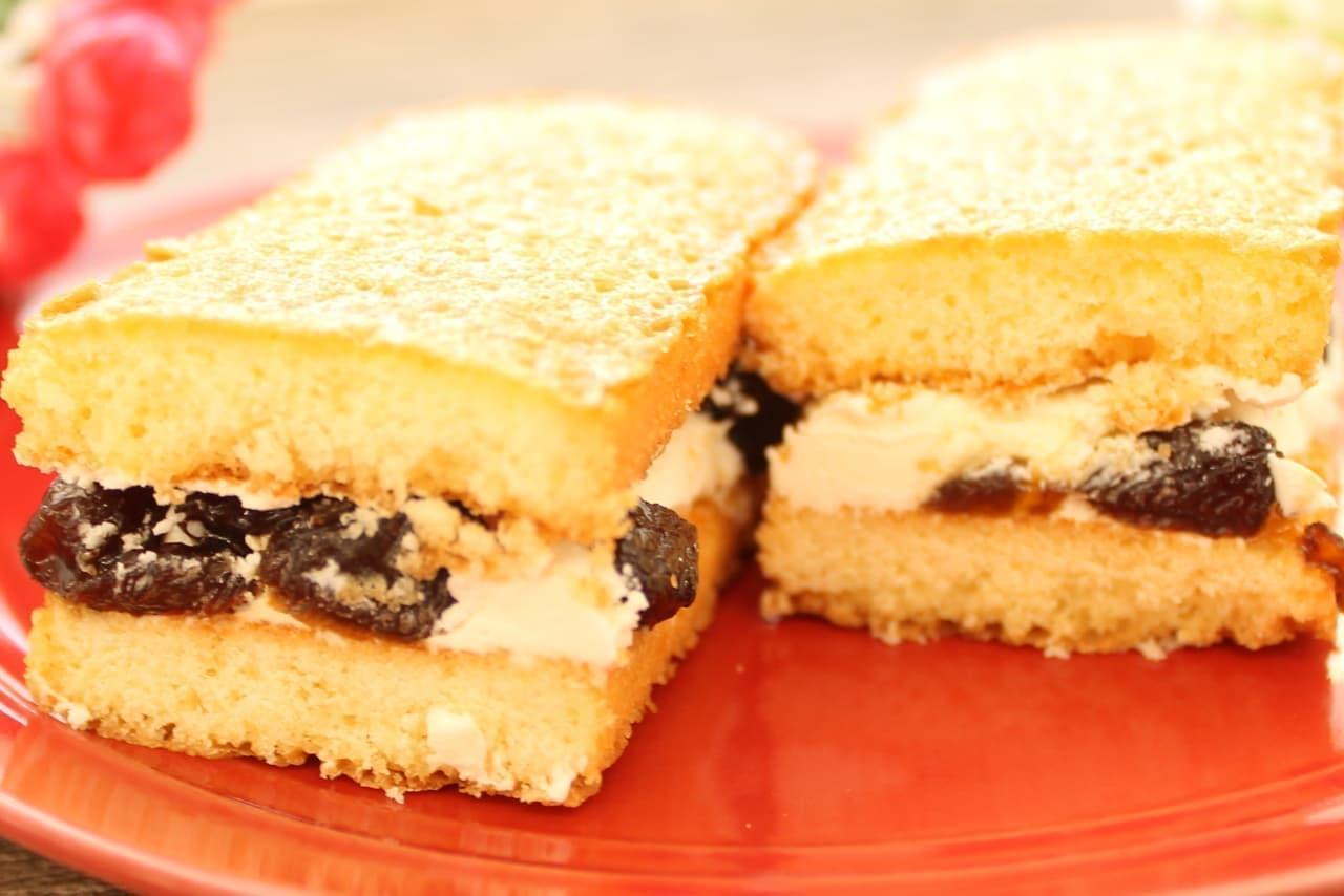 ファミマ限定「香ばしいクッキーのクリームサンド」