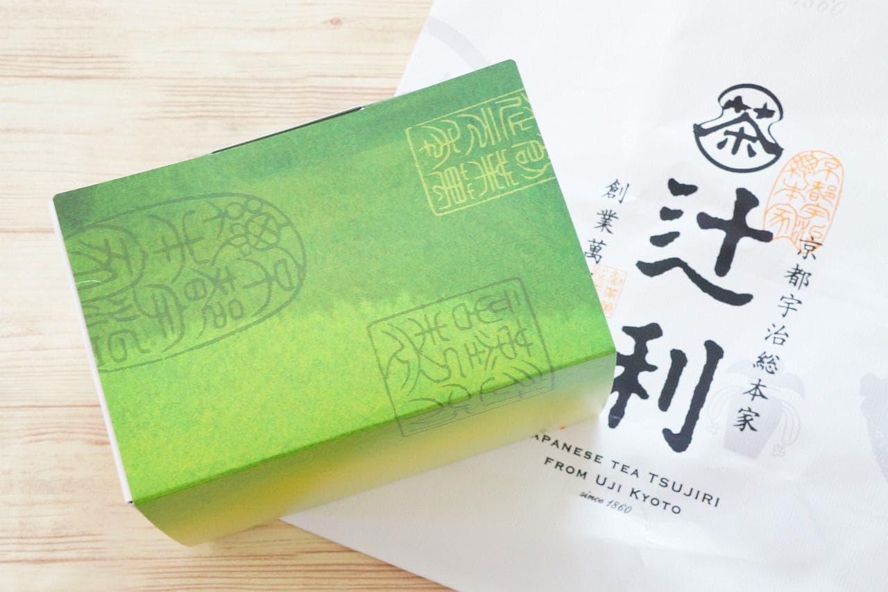 辻利 銀座店「京濃茶テリーヌ 実りの果実」