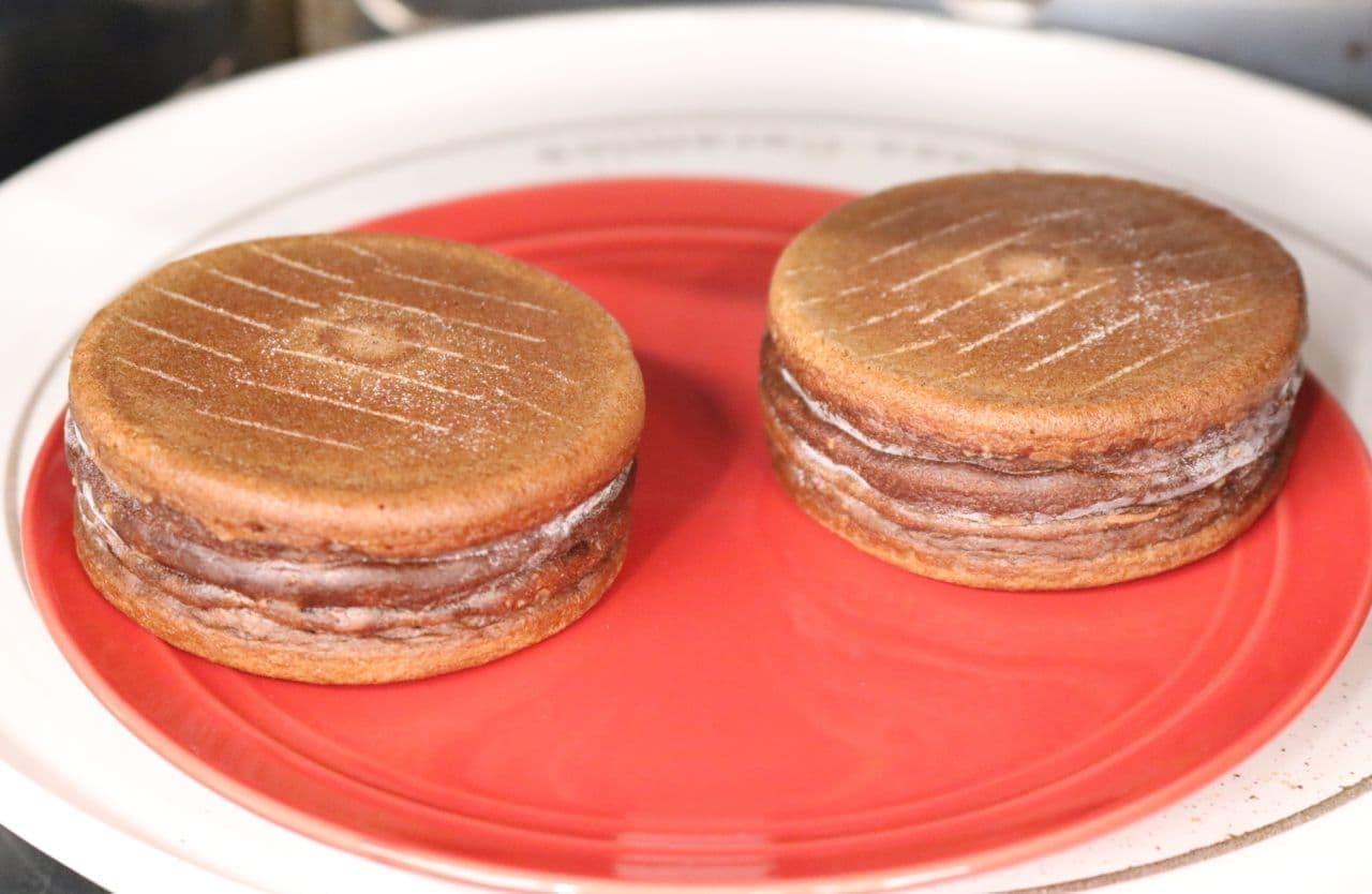 ニチレイフーズ「今川焼(ベルギーチョコレート)」