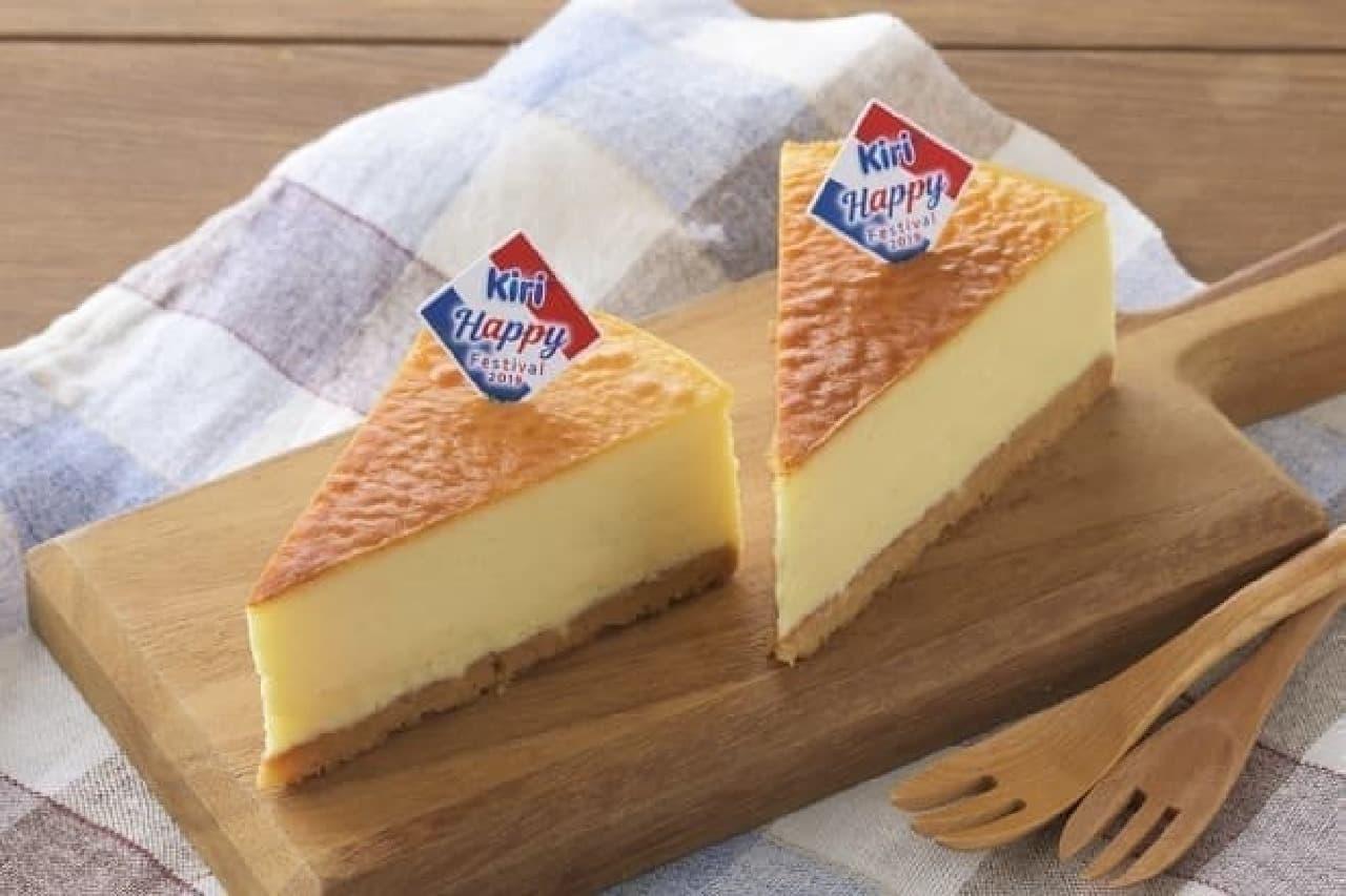 銀座コージーコーナー「濃厚ベイクドチーズケーキ」
