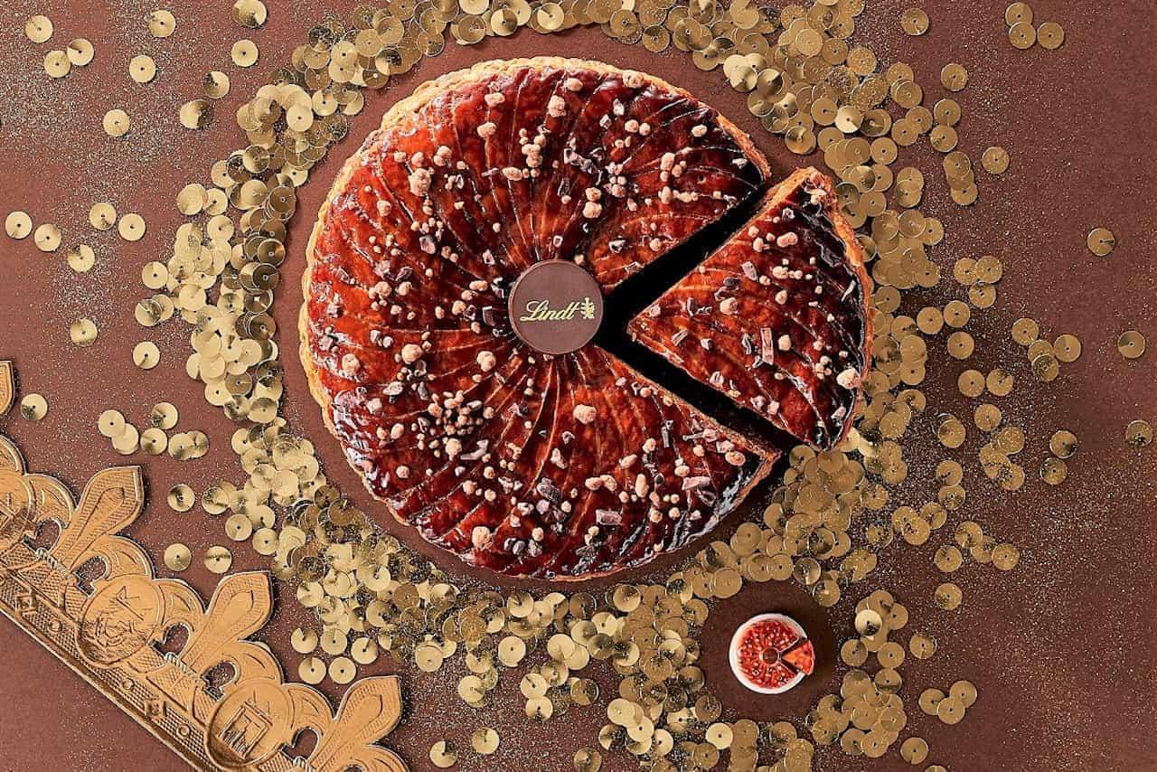リンツ、王様になれるお菓子「ガレット・デ・ロワ ダブルショコラ」